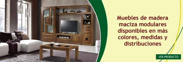 Decoración con muebles de pino Los Pinos Muebles Madrid, mobiliario
