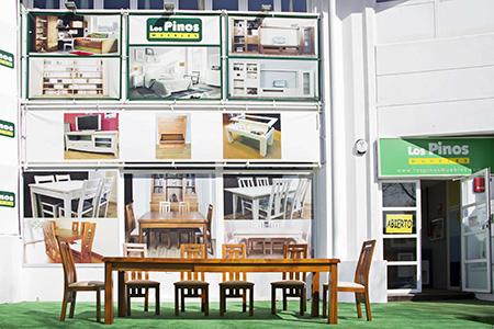 Los pinos muebles madrid mobiliario y decoraci n for Transporte muebles madrid